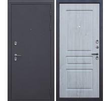 Входная дверь АСД 3К «Сибирь» с терморазрывом сосна белая