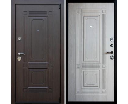 Входная дверь АСД Викинг Беленый дуб