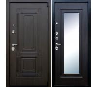 Входная дверь АСД Викинг с зеркалом Венге
