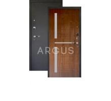 Дверь Аргус Люкс Про 3К Альфред дуб золотой/черный шелк