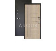 Дверь Аргус Люкс Про 3К Фриза капучино/черный шелк