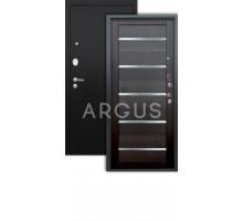 Дверь Аргус Люкс Про 3К Александра вельвет/черный шелк