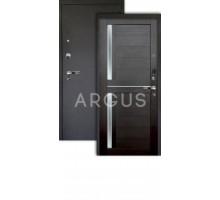 Дверь Аргус Люкс Про 3К Мирра вельвет/черный шелк