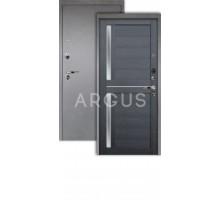 Дверь Аргус Люкс Про 3К Мирра лунная ночь/серебро антик