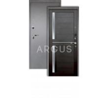 Дверь Аргус Люкс Про 3К Мирра вельвет/серебро антик