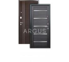 Дверь Аргус Люкс 3К Александра вельвет/лофт венге