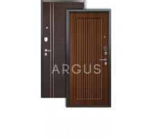 Дверь Аргус Люкс 3К Багратион дуб рустикальный/лофт венге