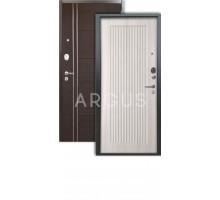 Дверь Аргус Люкс 3К Багратион ларче светлый/лофт венге