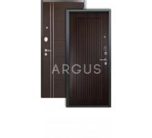 Дверь Аргус Люкс 3К Багратион венге/лофт венге