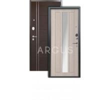 Дверь Аргус Люкс 3К Владимир капучино/лофт венге