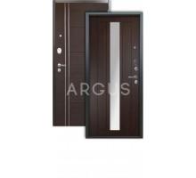 Дверь Аргус Люкс 3К Владимир венге/лофт венге