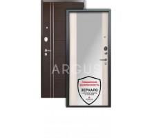 Дверь Аргус Люкс 3К Вояж белое дерево/лофт венге