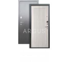 Дверь Аргус Люкс 3К Багратион ларче св./серебро антик