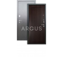 Дверь Аргус Люкс 3К Багратион венге/серебро антик