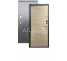 Дверь Аргус Люкс 3К Элегия дорс светлый горизонт/серебро антик