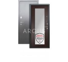 Дверь Аргус Люкс 3К Милли венге/серебро антик