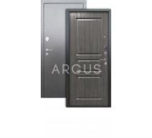 Дверь Аргус Люкс 3К Сабина дуб филад графит/серебро антик