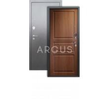 Дверь Аргус Люкс 3К Сабина дуб золотой/серебро антик