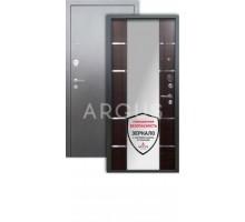 Дверь Аргус Люкс 3К Самсон венге/серебро антик