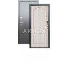 Дверь Аргус Люкс 3К Сонет ларче/серебро антик