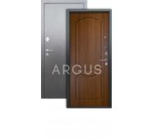 Дверь Аргус Люкс 3К Сонет дуб золотой/серебро антик
