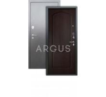 Дверь Аргус Люкс 3К Сонет венге/серебро антик