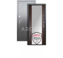 Дверь Аргус Люкс 3К Вояж венге/серебро антик