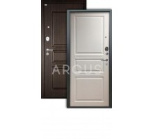 Дверь Аргус Люкс АС Джулия белый жемчуг /2п сабина венге