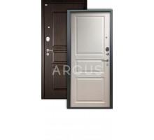 Дверь Аргус Люкс Про 3К 2П Джулия белый жемчуг /сабина венге