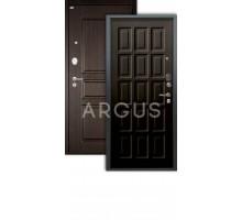 Дверь Аргус Люкс АС Шоколад венге/2п сабина венге