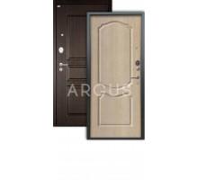 Дверь Аргус Люкс АС Сонет капучино/2п сабина венге