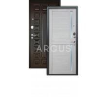 Дверь Аргус Люкс АС Мирра буксус/2п сенатор венге