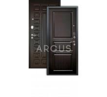 Дверь Аргус Люкс АС Сабина венге/2п Сенатор венге