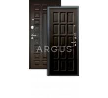 Дверь Аргус Люкс АС Шоколад венге/2п сенатор венге