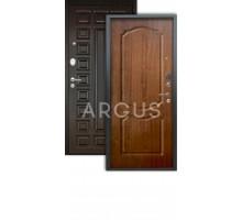 Дверь Аргус Люкс АС Сонет дуб золотой/2п сенатор венге
