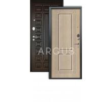 Дверь Аргус Люкс АС Триумф капучино/2п сенатор венге