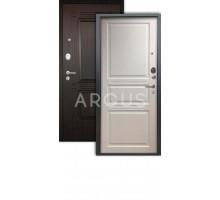 Дверь Аргус Люкс АС Джулия белый жемчуг /2п триумф венге