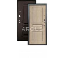 Дверь Аргус Люкс АС Сабина капучино/2п триумф венге