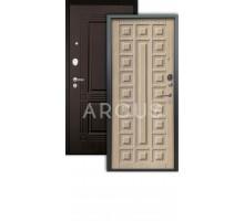 Дверь Аргус Люкс АС Сенатор капучино/2п триумф венге