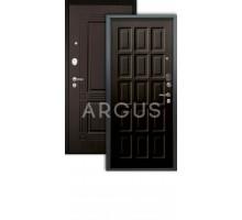 Дверь Аргус Люкс АС Шоколад венге/2п Триумф венге