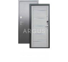 Дверь Аргус Люкс АС Александра буксус/серебро антик