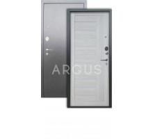 Дверь Аргус Люкс 3К Диана буксус/серебро антик