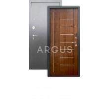 Дверь Аргус Люкс АС Фриза дуб золотой/серебро антик