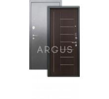Дверь Аргус Люкс АС Фриза венге/серебро антик