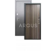 Дверь Аргус Люкс 3К Гауда керамика/серебро антик