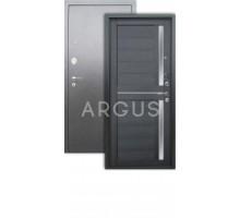 Дверь Аргус Люкс 3К Мирра лунная ночь/серебро антик