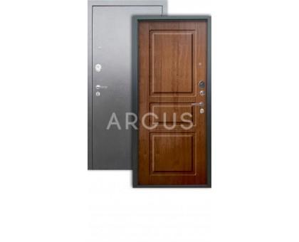 Дверь Аргус Люкс АС Сабина дуб золотой/серебро антик