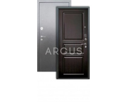 Дверь Аргус Люкс АС Сабина венге/серебро антик