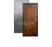 Дверь Аргус Люкс АС Сонет дуб золотой/серебро антик