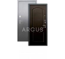Дверь Аргус Люкс АС Сонет венге/серебро антик